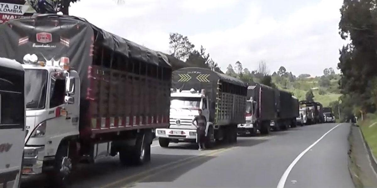 Deudores afectados por bloqueo en la vía Panamericana tendrán beneficios especiales