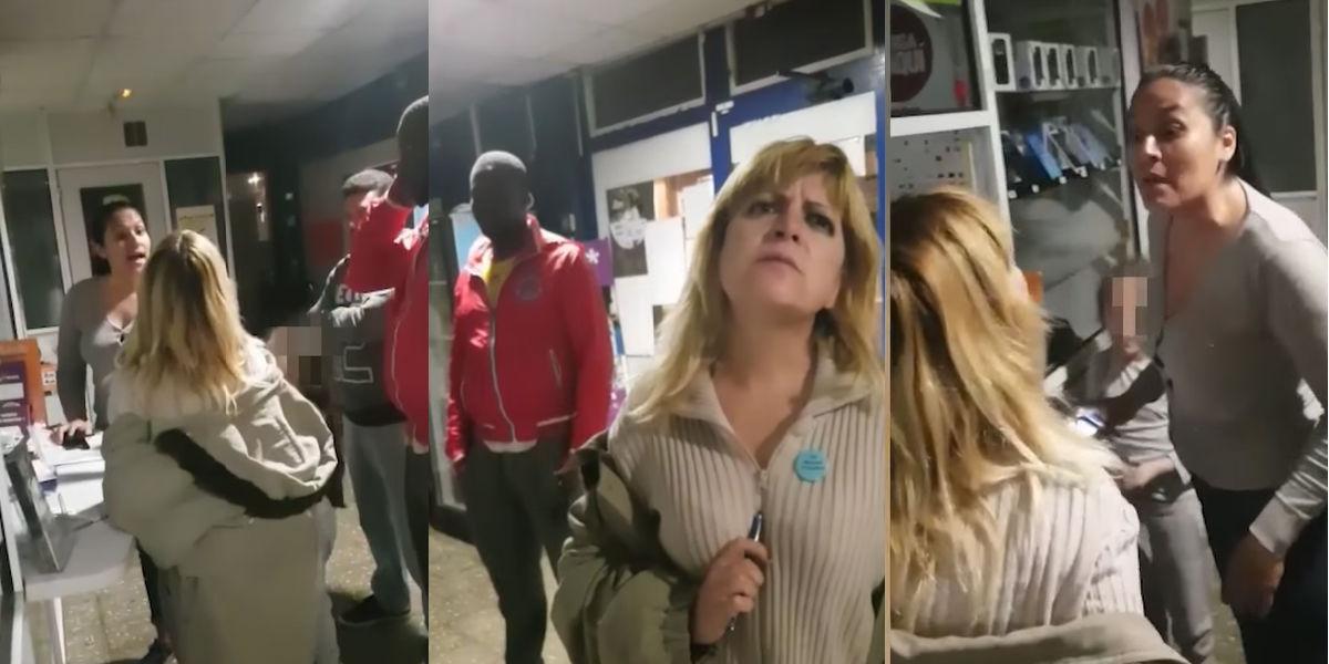 Video de indignante caso de racismo de una española a una colombiana