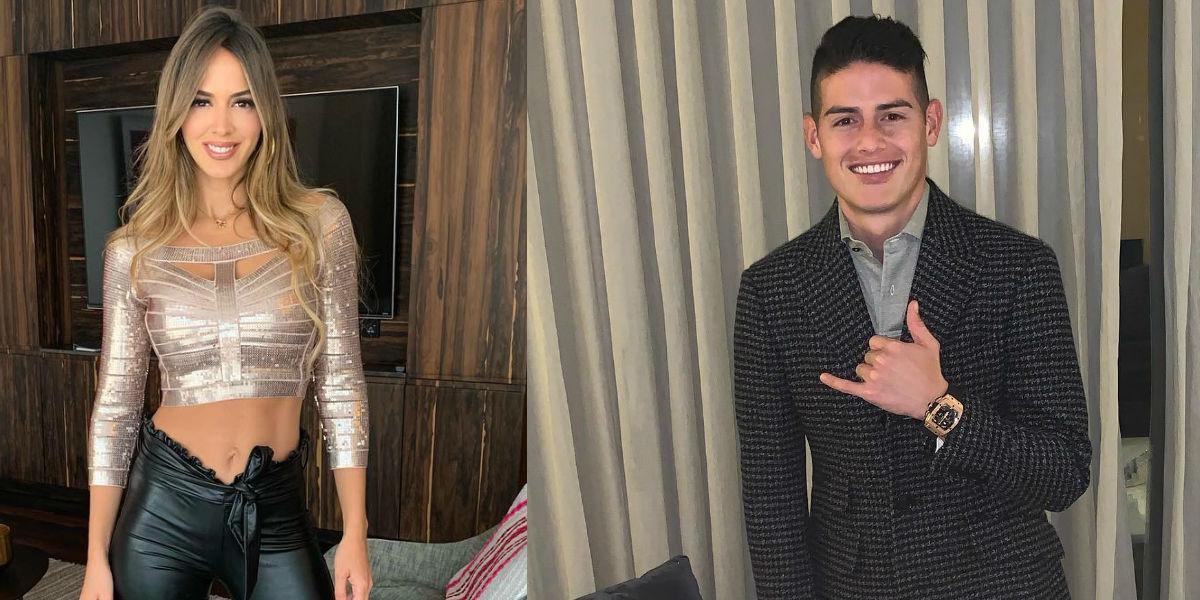 James Rodríguez y Shannon de Lima anuncian la llegada de un nuevo integrante a su familia