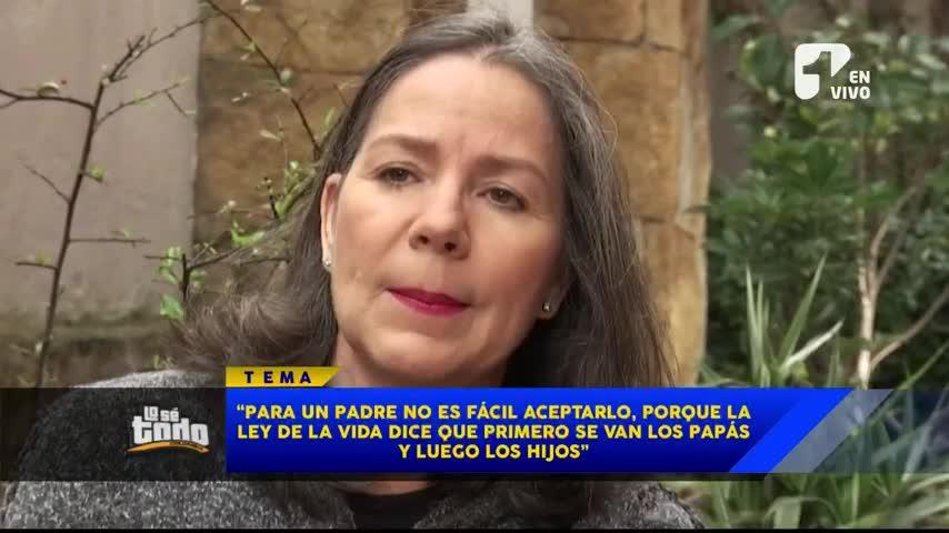 Haydée Ramírez habla de la sorpresiva muerte de su hijo mayor