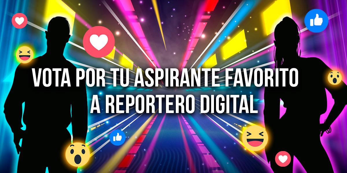 Vota y escoge a tu 'Reportero Digital' favorito