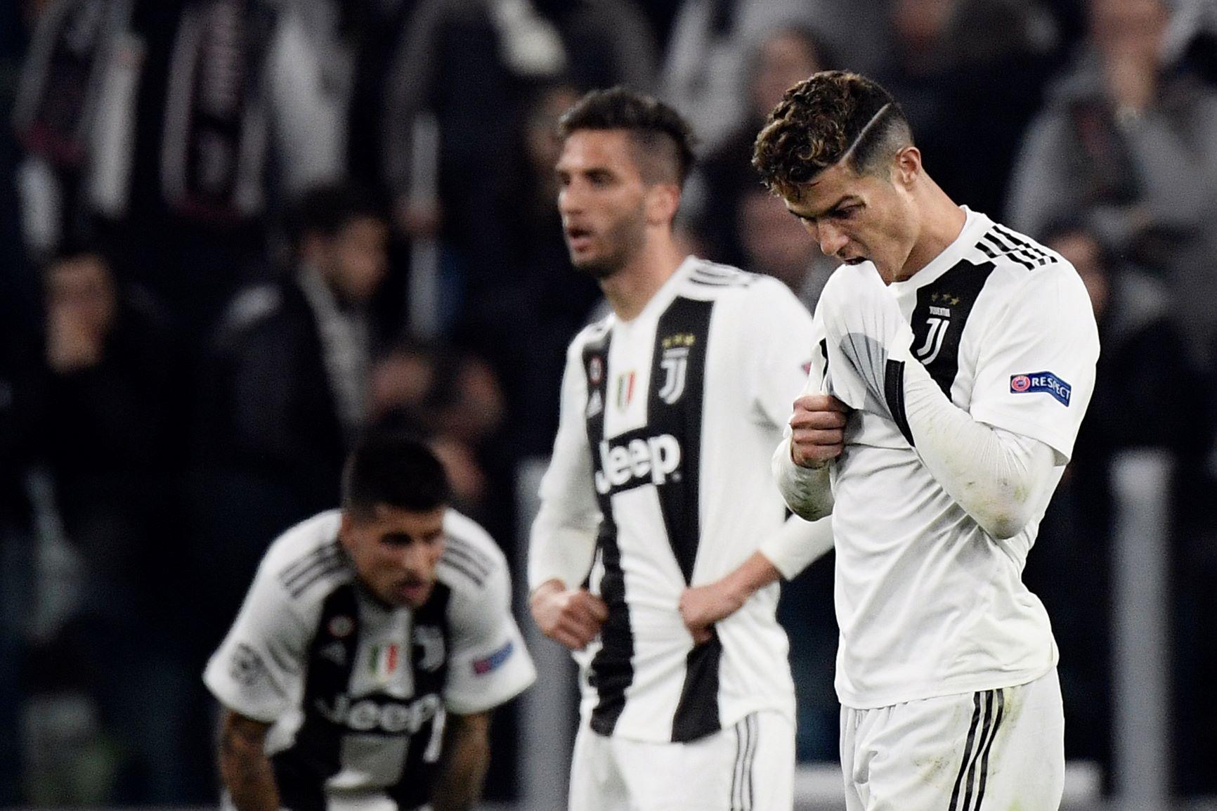 (Video) Cristiano Ronaldo culpó a sus compañeros de la eliminación ante el Ajax
