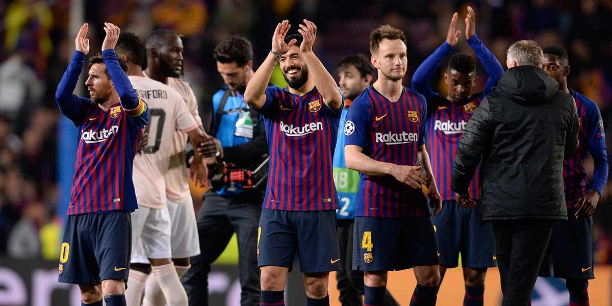 Barcelona golea 3-0 al United y clasifica a semifinales de la Champions League