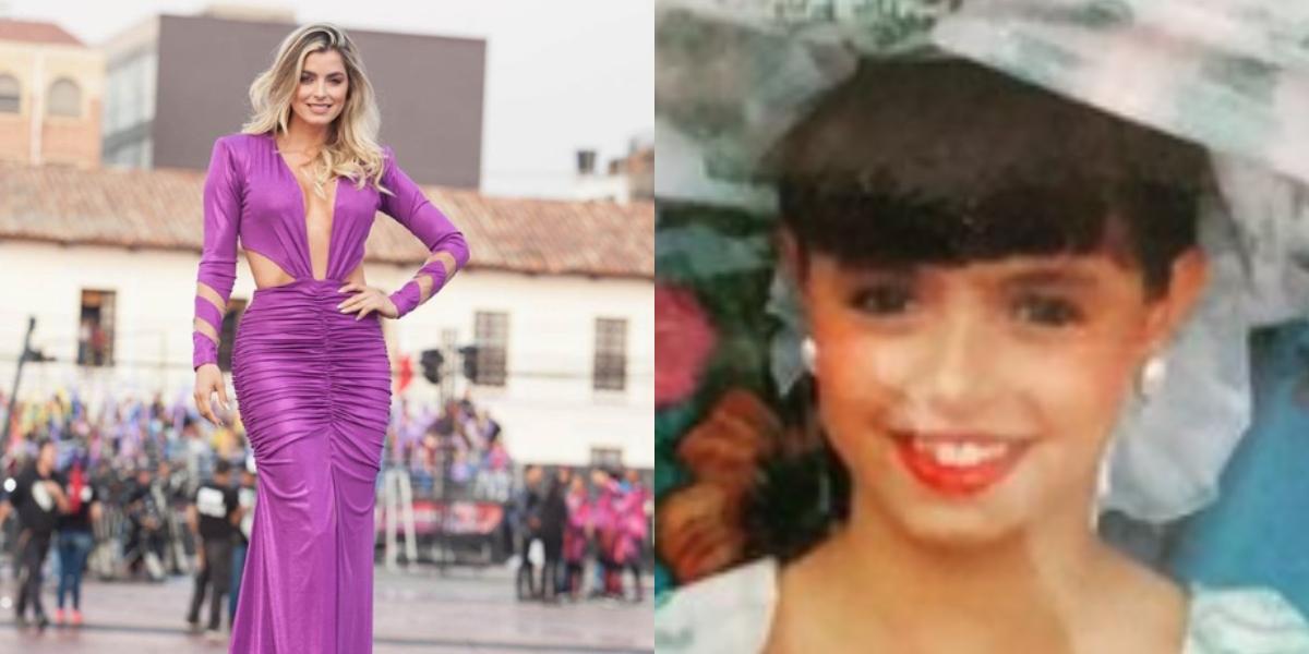 La conmovedora historia de Cristina Hurtado en su infancia