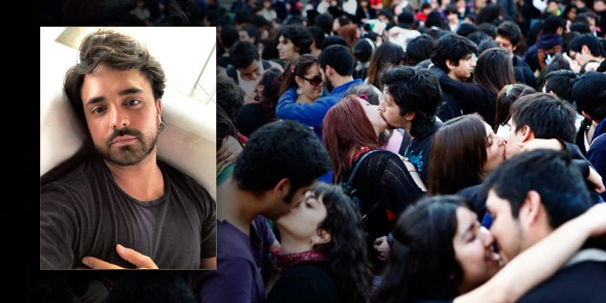 El amor es más fuerte que la homofobia: Pedro Santos invita a besatón en C.C. Andino