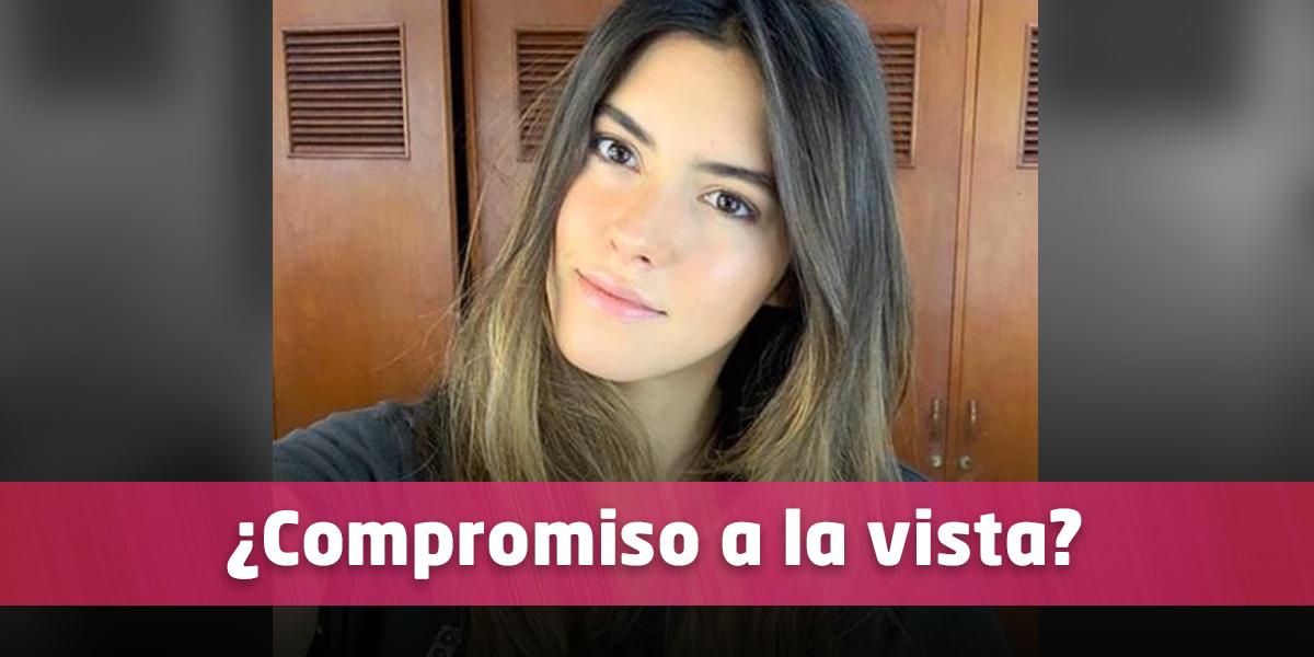 Con apasionado beso, Paulina Vega reveló al hombre que la tiene enamorada