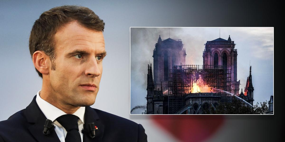 'Reconstruiremos Notre Dame': Macron a los franceses