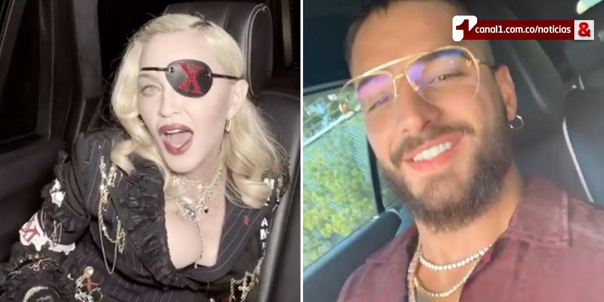 'Te amo Maluma': así reaccionó Madonna tras estreno del video de 'Medellín'