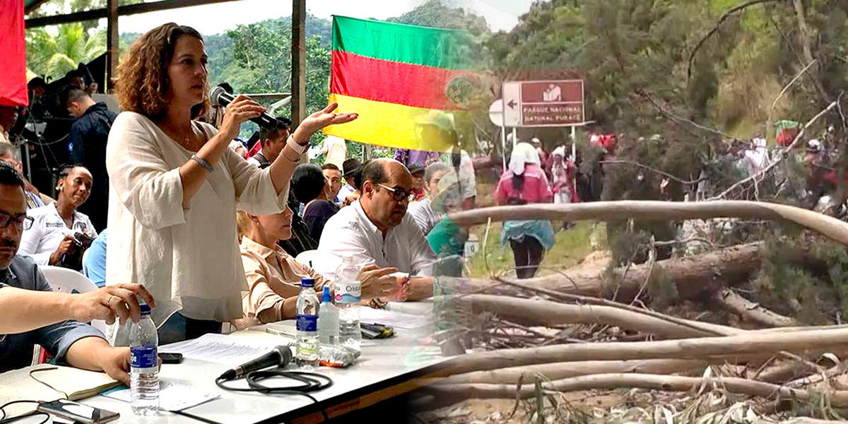 Este martes se reinician los diálogosentre Gobierno yminga indígena en Cauca