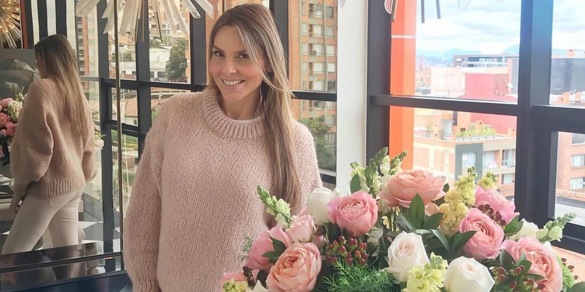 Paula Andrea Betancur habla de sus siete meses de embarazo