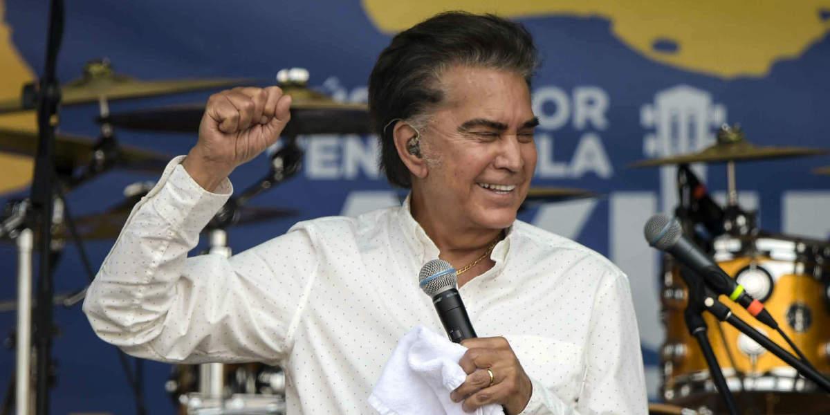 El Cantante «El Puma» Rodríguez quiere aspirar a la presidencia de Venezuela
