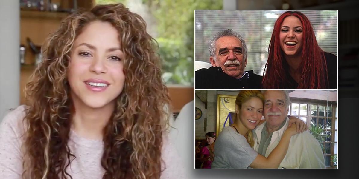 Con emotivo video, Shakira rinde homenaje a Gabo en su quinto aniversario de muerte