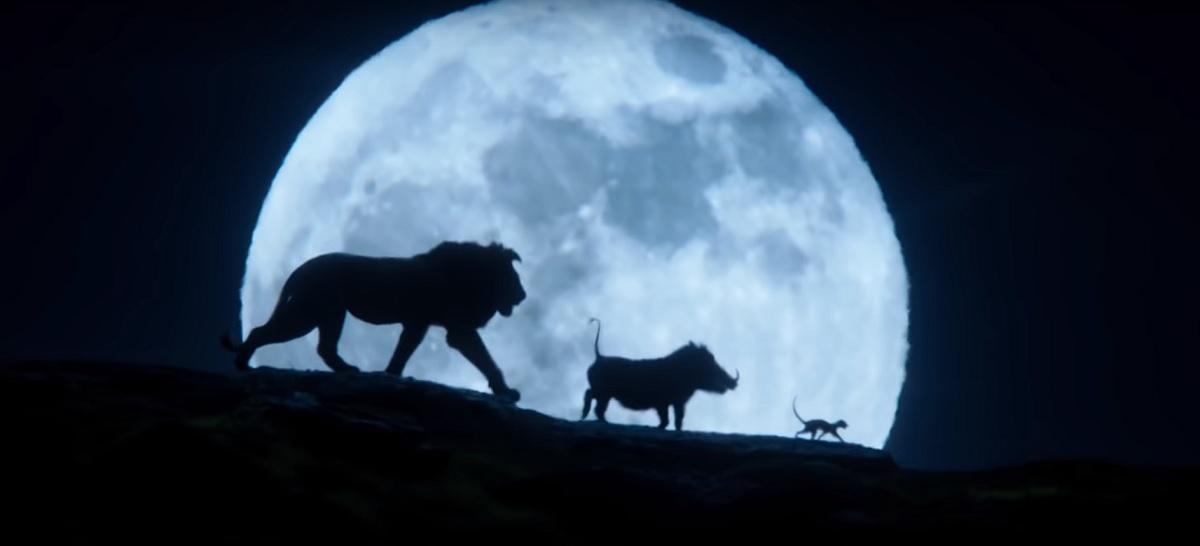 Nuevo trailer de 'El rey león' muestra cómo se verán Timón y Pumba