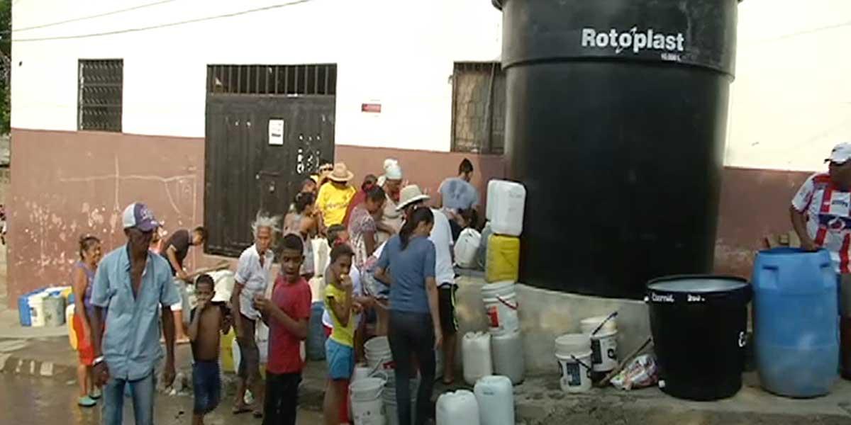 Plan de contingencia para abastecer de agua potable a Santa Marta