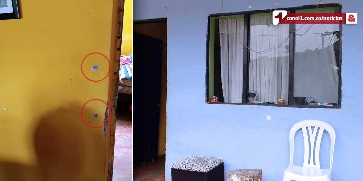Atacan a bala a una familia en corregimiento Altavista de Medellín