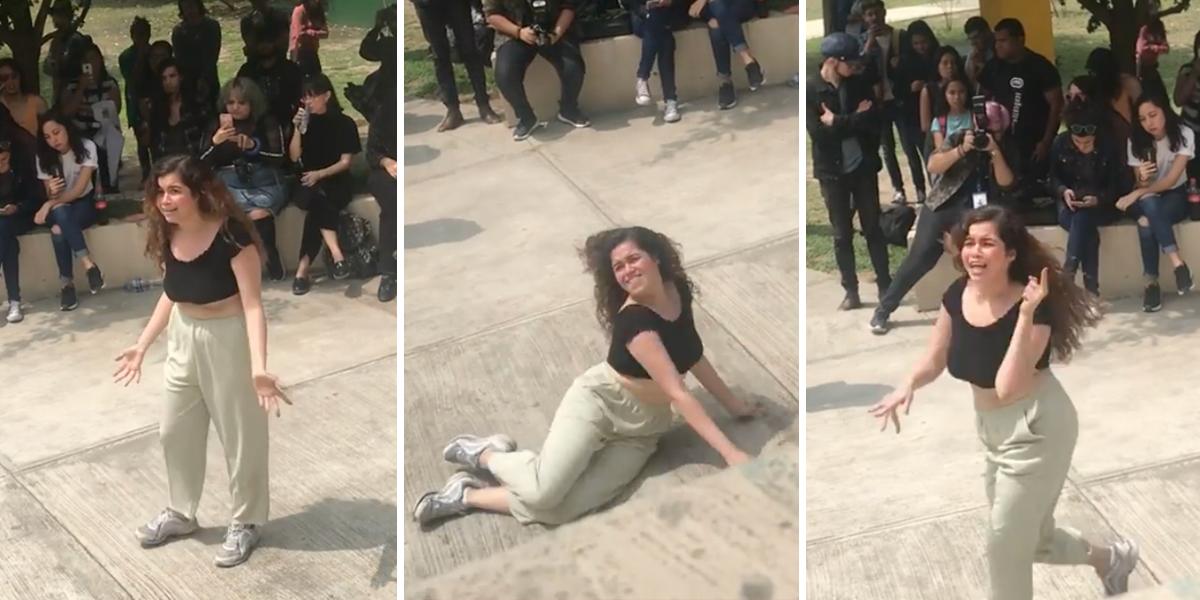 Baile de estudiante protestando contra acoso y violencia sexual se hace viral