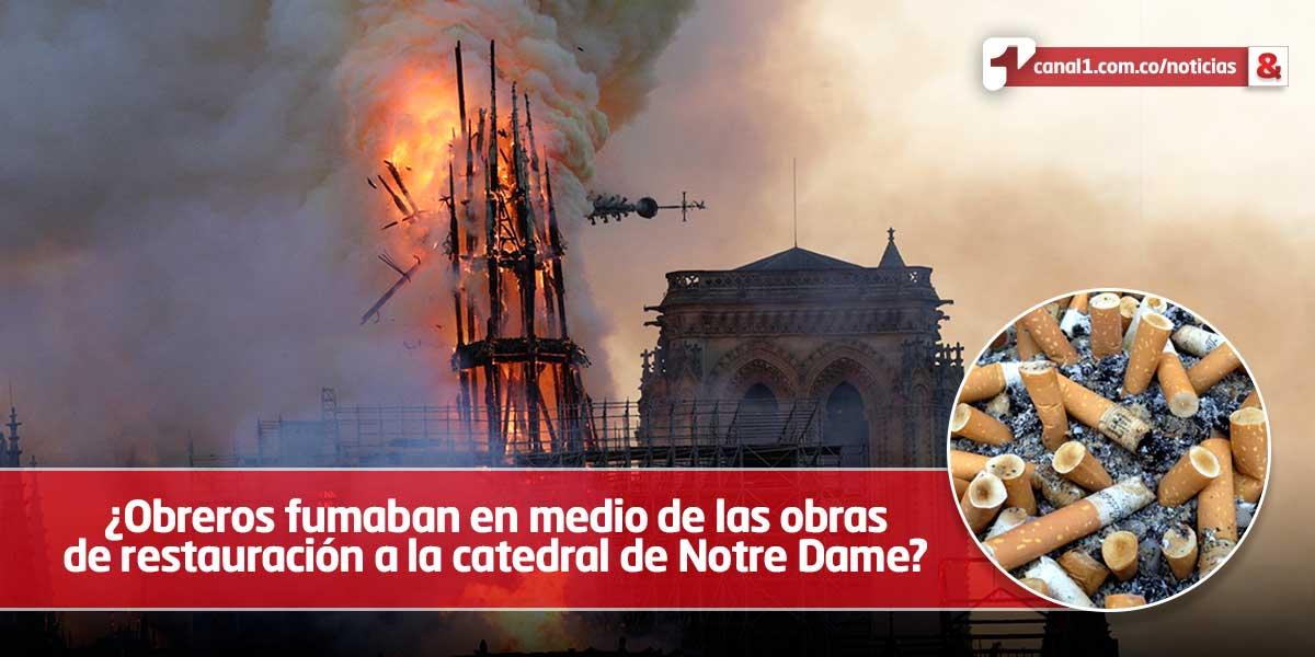 Obreros que trabajaban en Notre Dame reconocen violaciones de seguridad en obras
