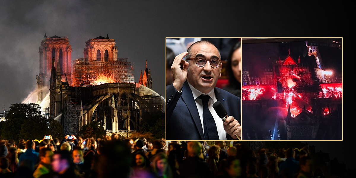 'No es seguro' que se pueda salvar la catedral de Notre-Dame: Gobierno francés