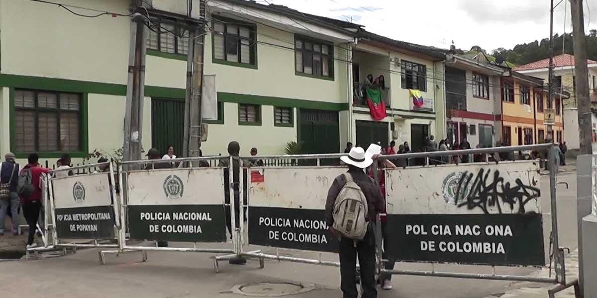 Temor por nuevos enfrentamientos en sede del CRIC en Popayán