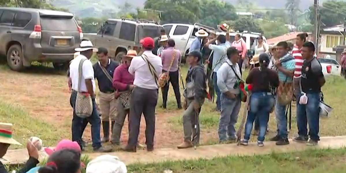 Gobierno y minga indígena piden garantías para continuar con diálogo en el Cauca