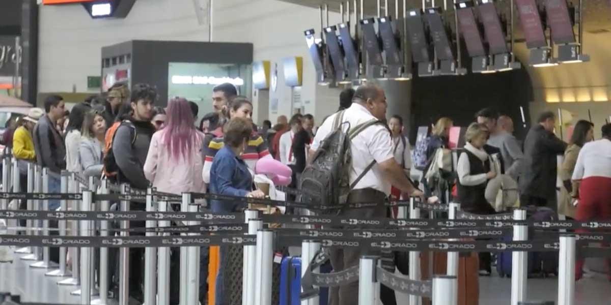 Flujo de pasajeros en aeropuertos crecerá 9,6 % en temporada de Semana Santa