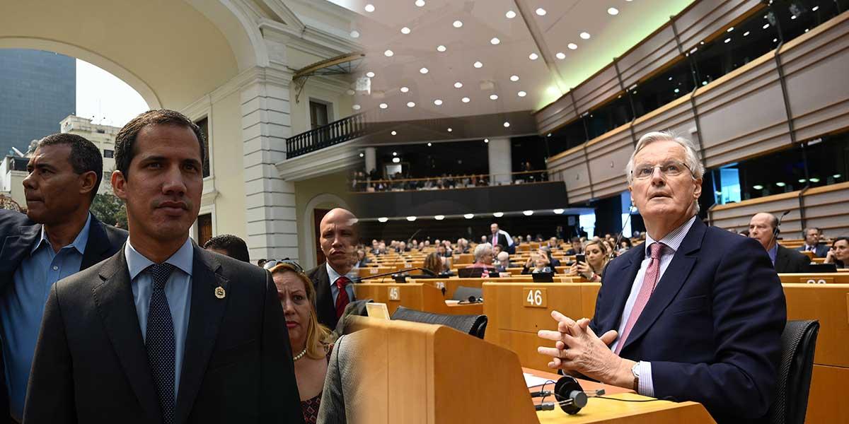 UE asegura que levantamiento de inmunidad a Guaidó viola Estado de derecho