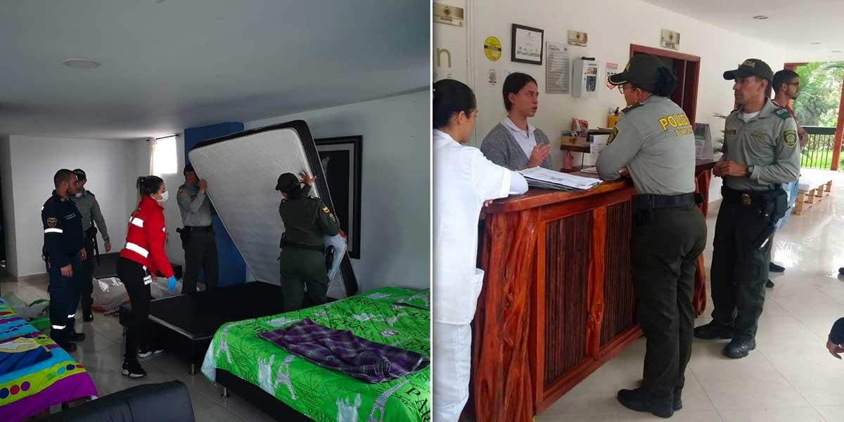 En víspera de Semana Santa, autoridades adelantan operativos de sanidad en hoteles de Antioquia