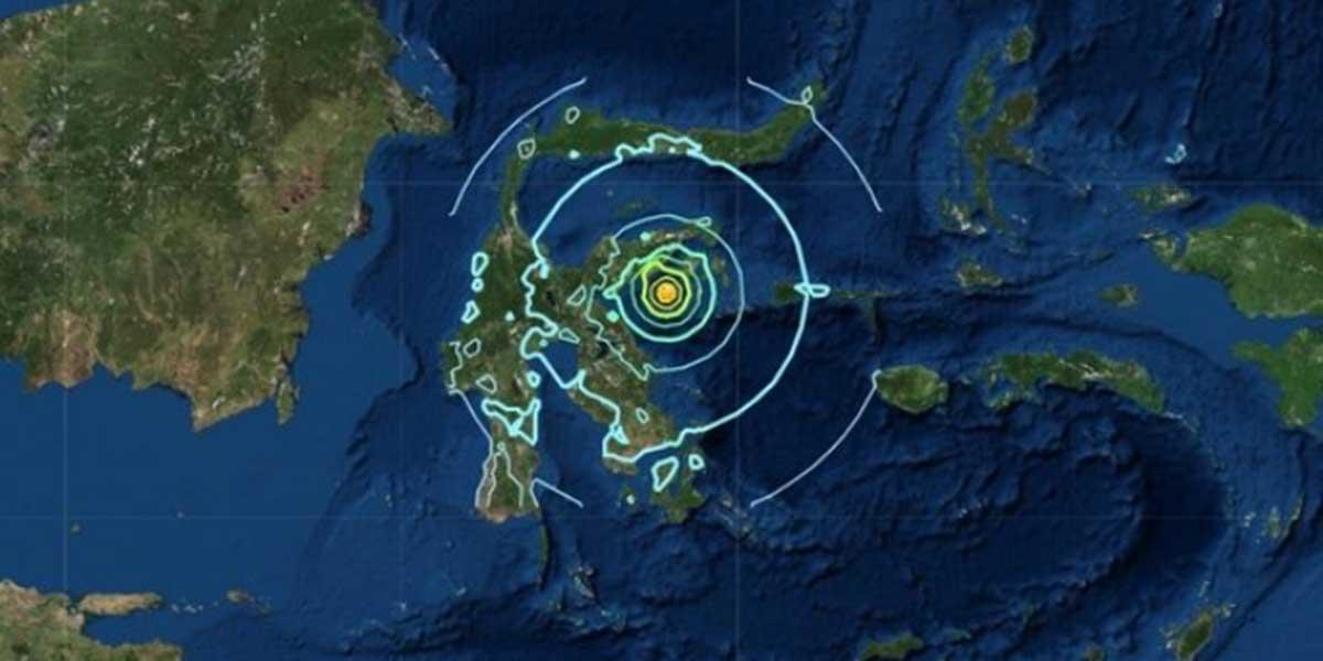 Indonesia retira la alerta de posible tsunami en la isla de Sulawesi tras temblor