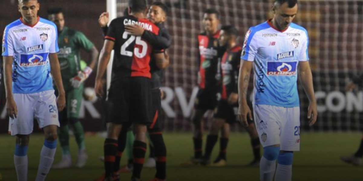 Junior pierde ante Melgar de Perú y compromete su futuro en Copa Libertadores