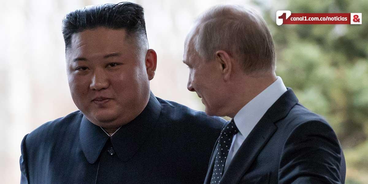 Desnuclearización coreana es 'posible': Putin tras reunirse con Kim Jong-un