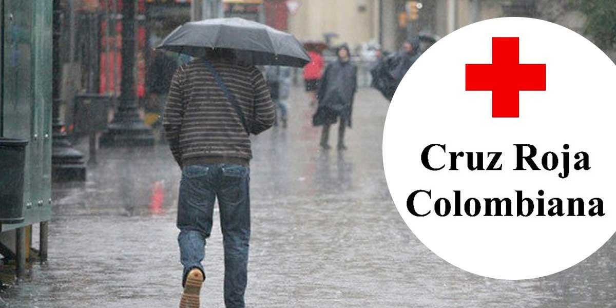 Cruz Roja hace recomendaciones para temporada de lluvias