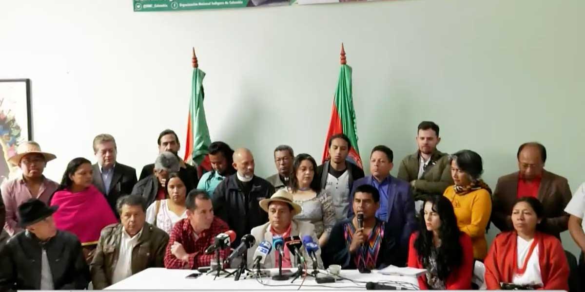 Organización Nacional Indígena dice que minga no ha terminado pese al acuerdo con Gobierno