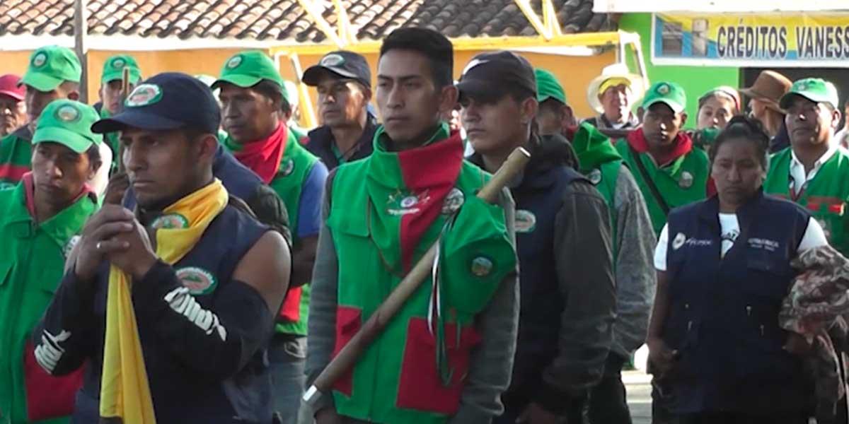 Minga indígena denuncia que el Gobierno no ha cumplido acuerdos
