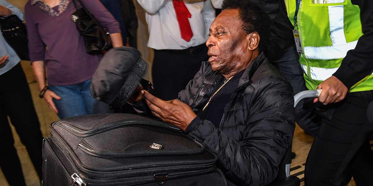 Pelé recibe alta médica en París y asegura estar listo para regresar a Brasil