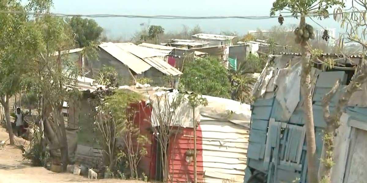 Comunidades de Cartagena piden al Distrito ser reubicadas