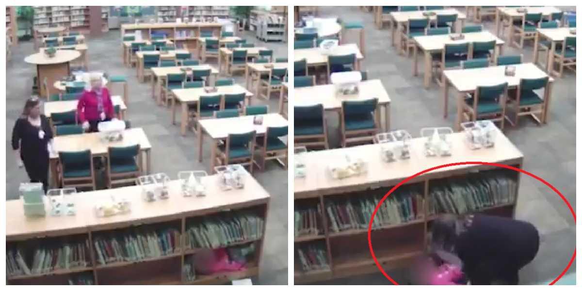 El video que delató la tremenda golpiza que le dio una profesora a una niña de kínder