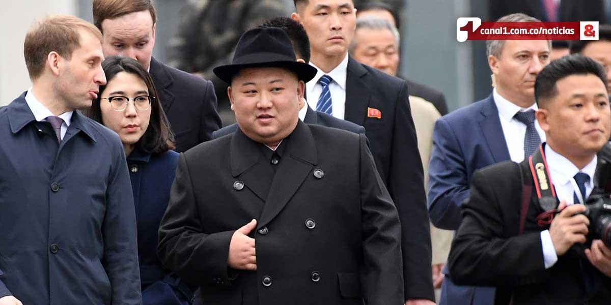 Kim Jong-un llega a Vladivostok, Rusia, para su primera cumbre con Putin