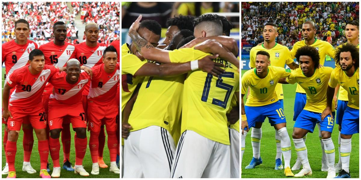 selecciones figuras copa america 2020 colombia