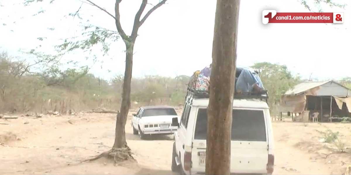 Decretan calamidad pública por intensa sequía en La Guajira