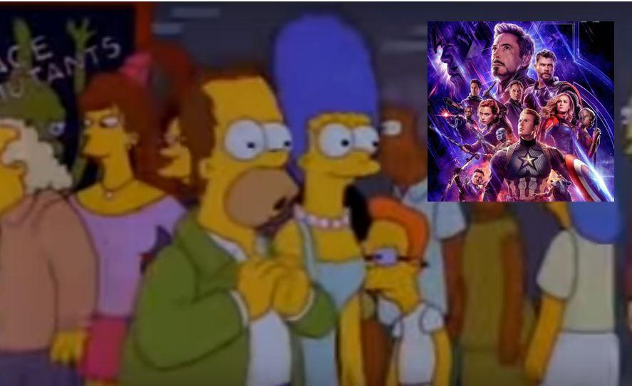 'Los Simpsons' lo predijeron: Hombre hizo 'spoilers' de 'Avengers Endgame' a la salida del cine y lo lincharon