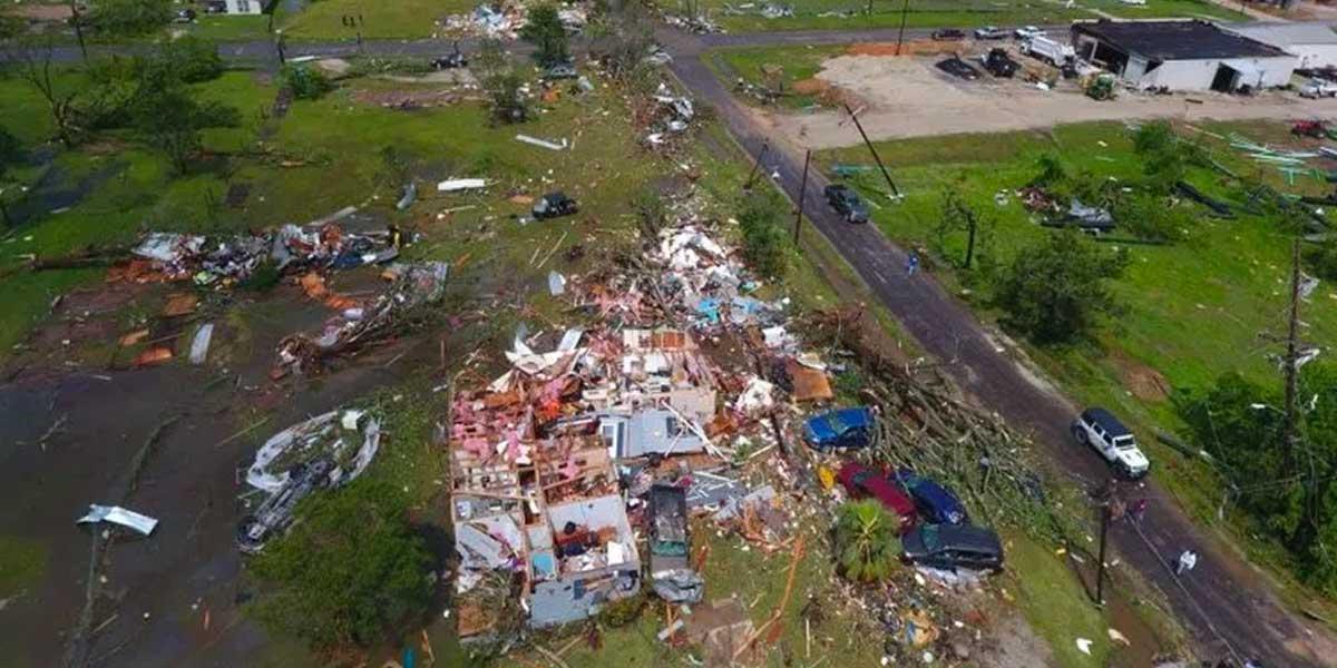 Tres muertos dejan fuertes tormentas y tornados en el sur de Estados Unidos