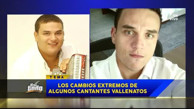 Los cantantes vallenatos que sufrieron un drástico cambio luego de someterse a cirugías estéticas