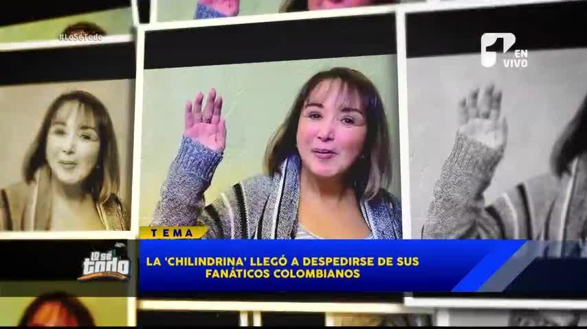 La Chilindrina está en Colombia y este es el conmovedor mensaje que le da a sus seguidores