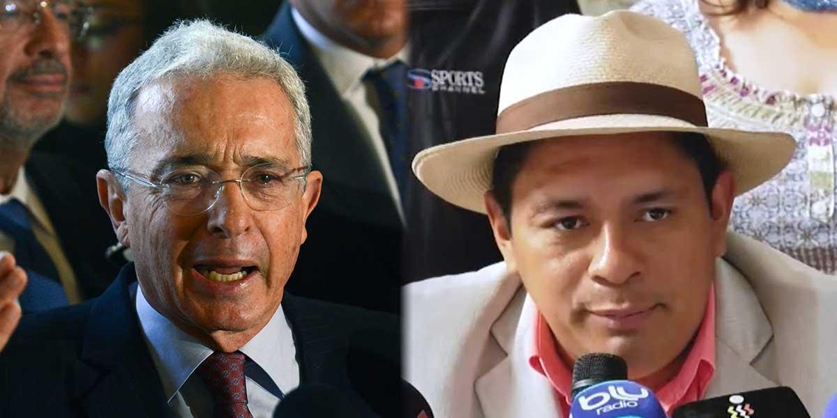 Indígenas rechazan declaraciones del senador Álvaro Uribe