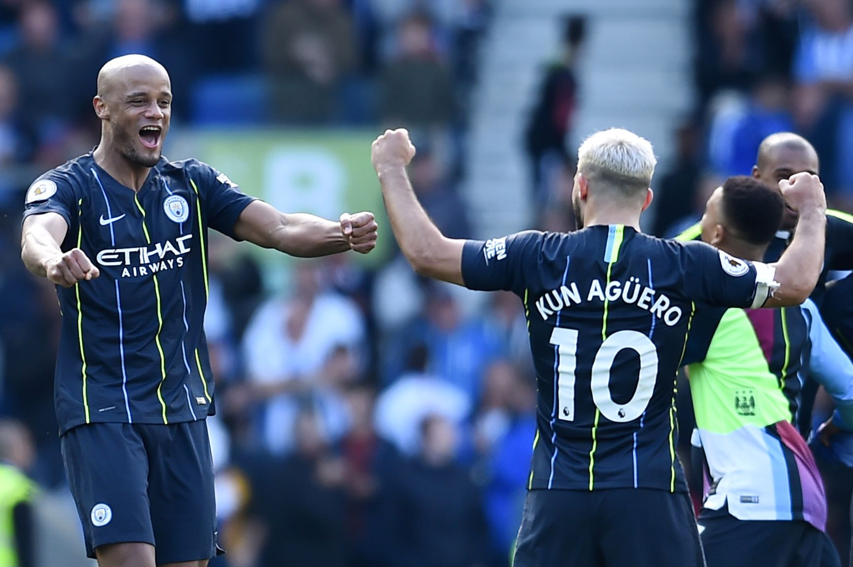 Goleando se consagró campeón el Manchester City de Premier League