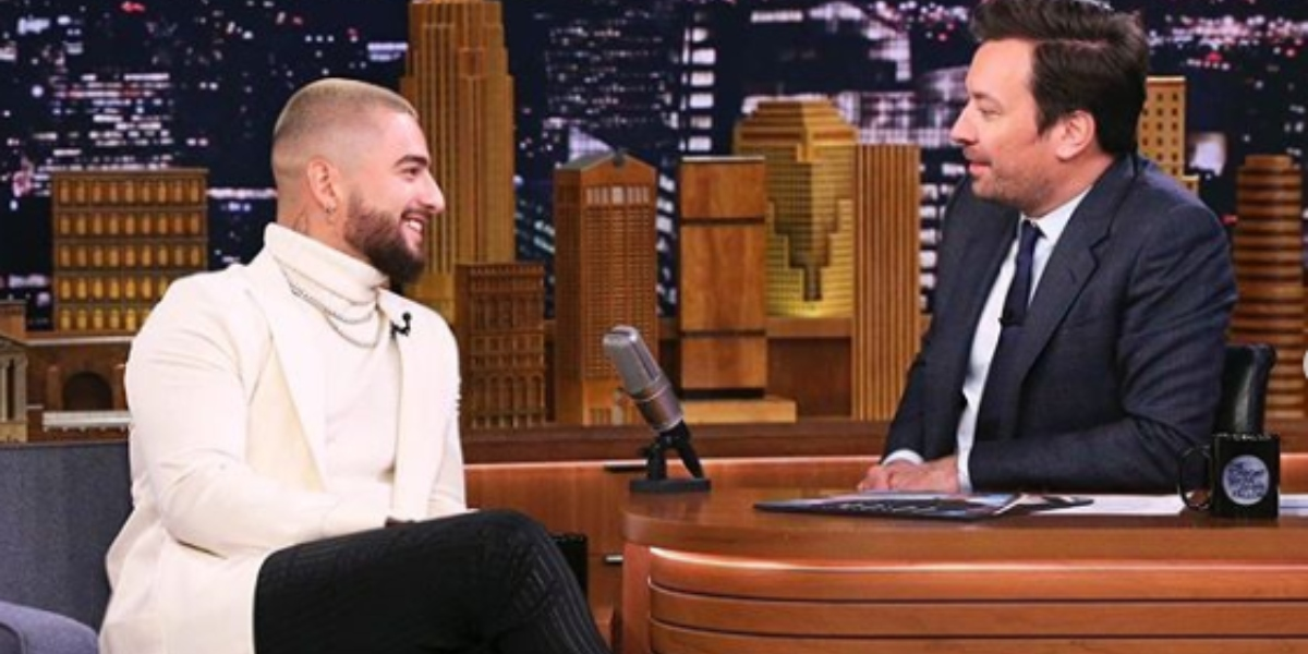 El inglés de Maluma que dio de qué hablar en el show de Jimmy Fallon