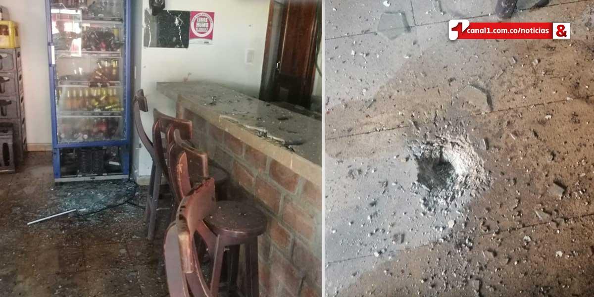 Explosión de granada en Tarazá deja un muerto y siete heridos