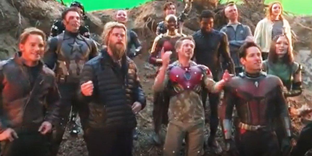 Robert Downey Jr. durante Avengers End Game