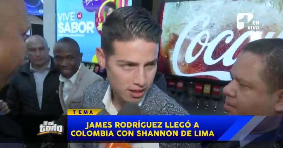 James y Shannon de Lima responden a Lo Sé Todo sobre su estancia en Colombia