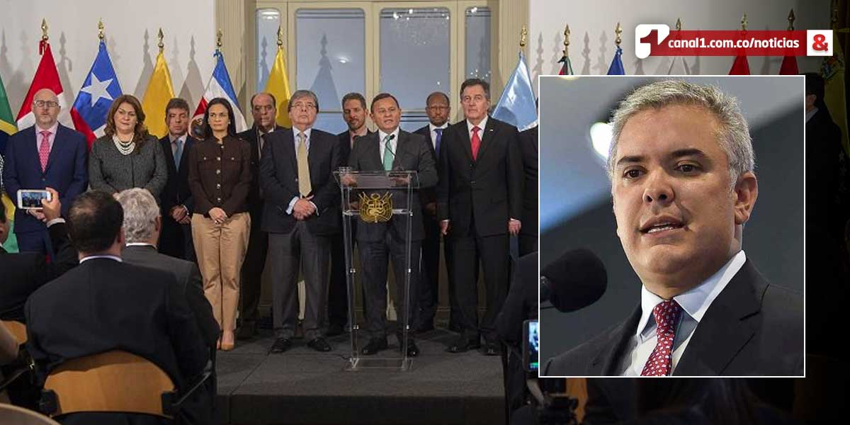 Grupo de Lima rechaza cualquier intento de atentado contra Duque por parte de régimen de Maduro